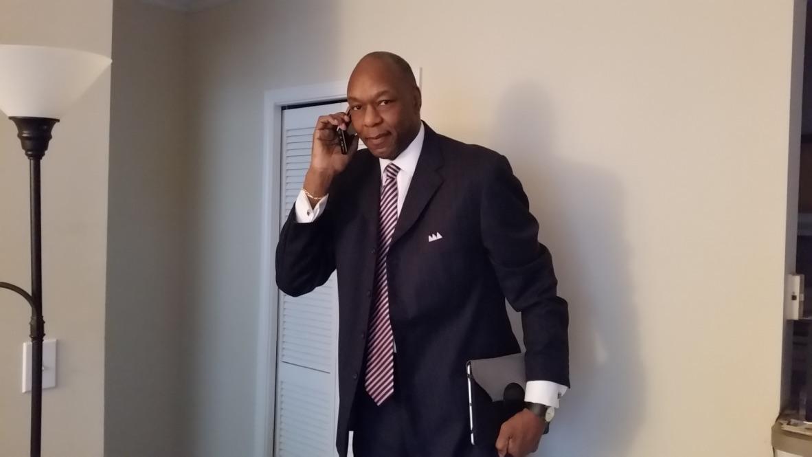 Walter Jordan on Phone